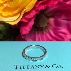 ❤️ Tiffany & Co. - 'I love you' ring